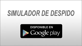 Simulador de despido en Google Play